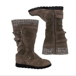 Mukluks Boots Fall Winter Fur Lined Boots Tan